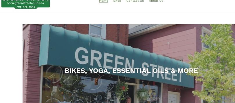 Green Street Website