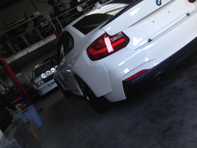 BMW F22 REAR FENDERS