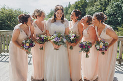LAURIE AND BRIDESMAIDS