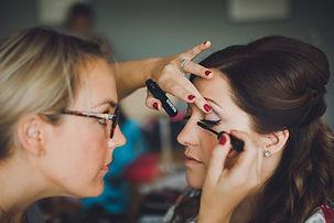 York Makeup Artist 'Rose' and Bride 'Laura' Laughing
