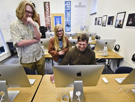 New MAPS media lab at Holter Museum offers kids free filmmaking, graphic design classes
