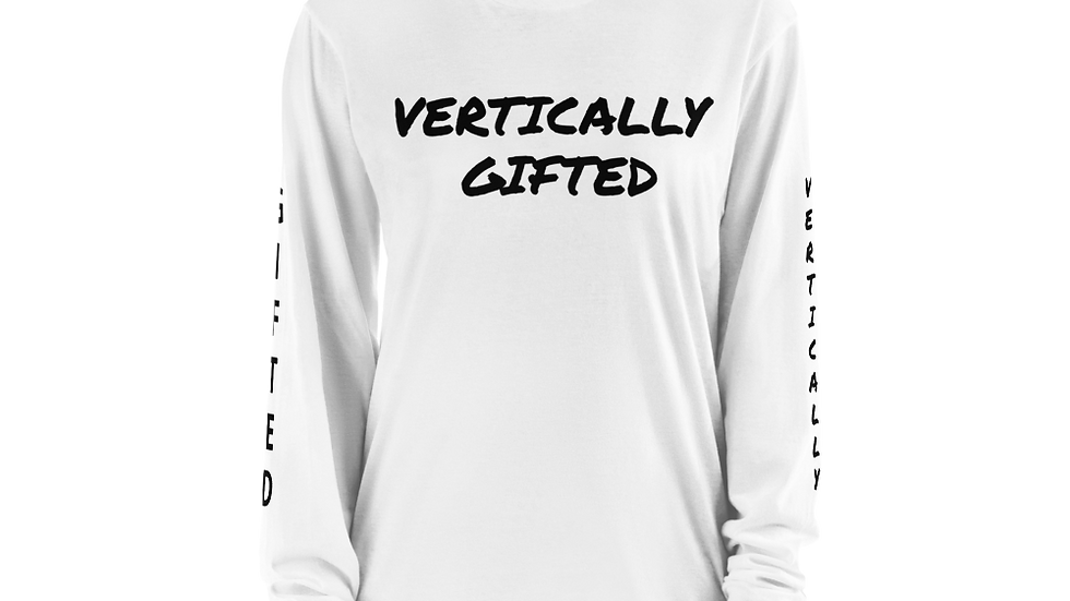 VERTICALLY Gifted Long sleeve t-shirt
