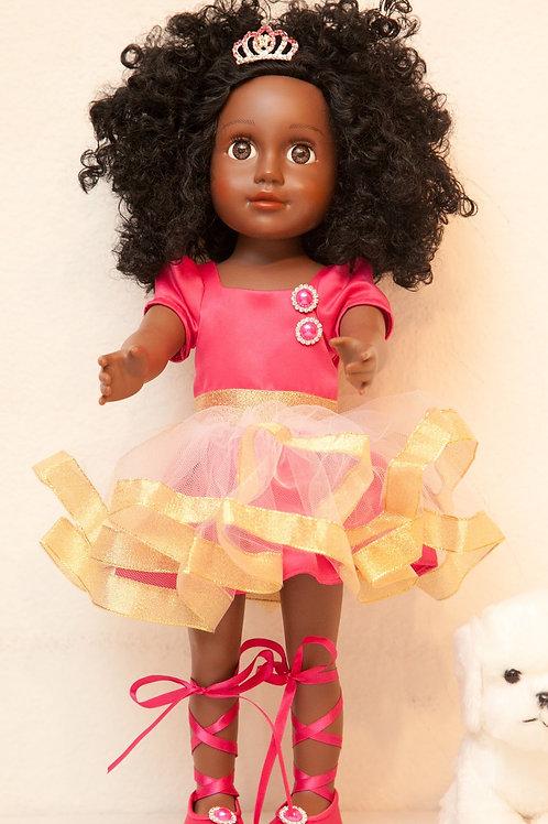 """Princess Nkinzi (18"""" Pink Doll)"""