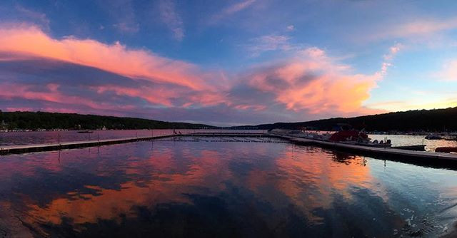 Strategic Steph Instagram - Green Pond Sunset