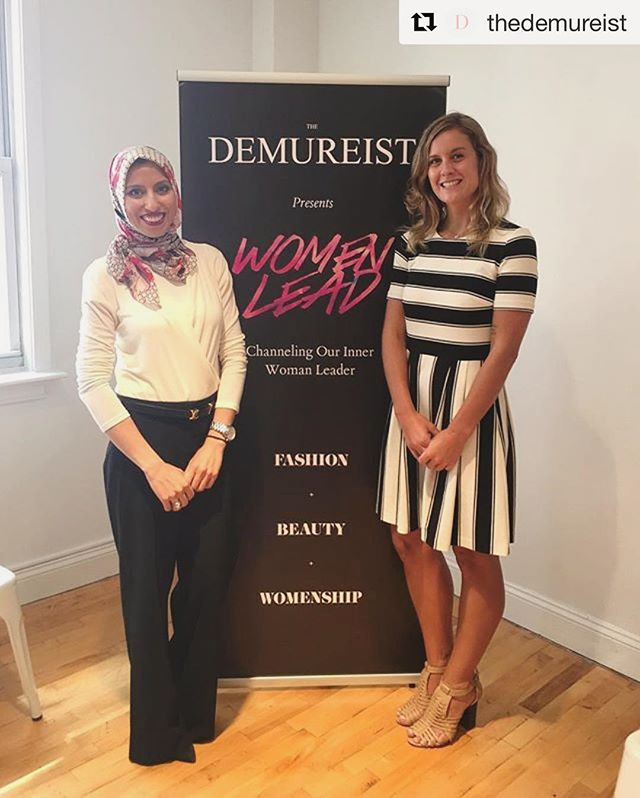 Strategic Steph Instagram - The Demureist Women Lead Event