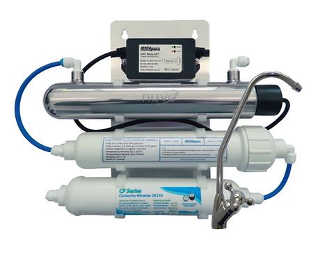 Alcalinizador y purificador de agua  UV MOD. ARTIK+PH-E