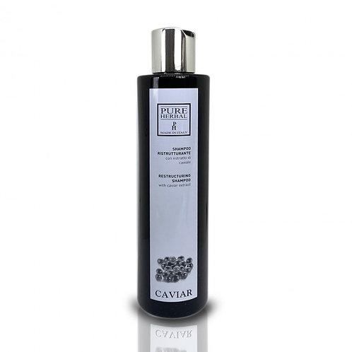 Shampoo ristrutturante al caviale Pure Herbal 250 ml/1000 ml