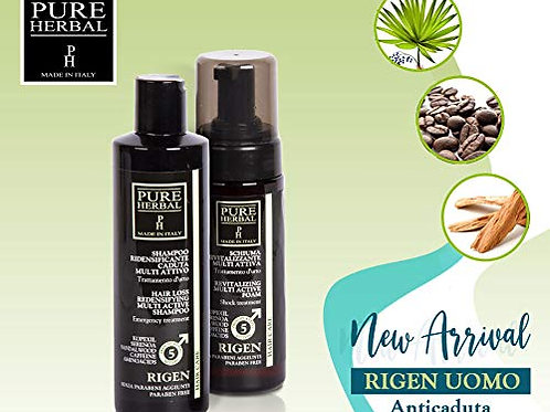 Shampoo ridensificante Pure Herbal caduta multiattivo 250 ml