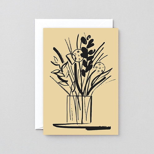 Vase and Stems Card