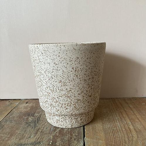 Odense Sand Plant Pot - 14cm dia