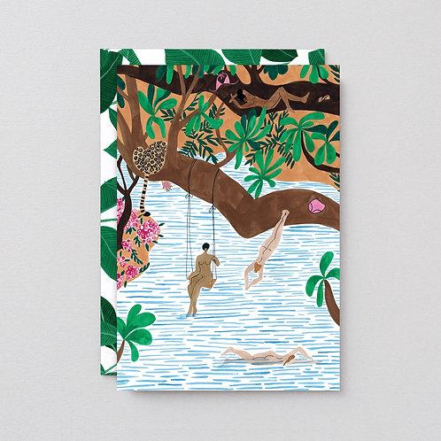Jungle beach card