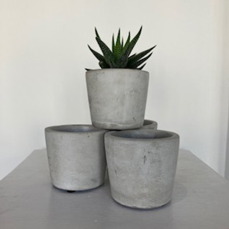 Cement Pot 6cm - Small