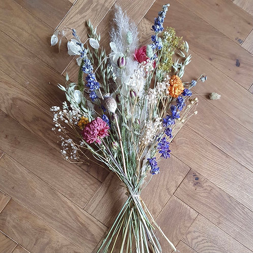 British Dried Bouquet - Carnival