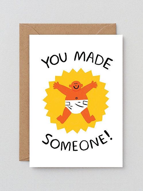 You made someone card