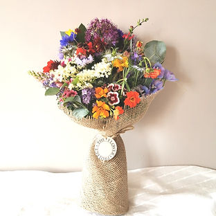 British Flower Bouquet -Flowers Delivered in Cambridge