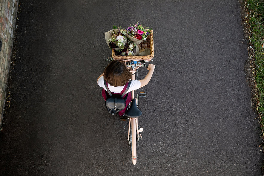 Flowers cycle delivered