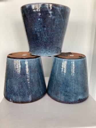 Alicante light blue pot 15x14cm