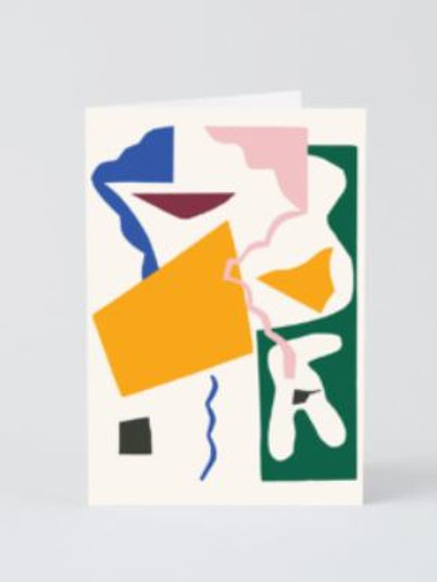 Abstract 10 card