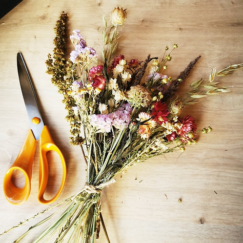 British Dried Bouquet