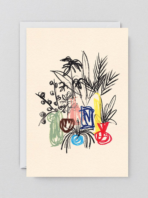 July Cluster Card