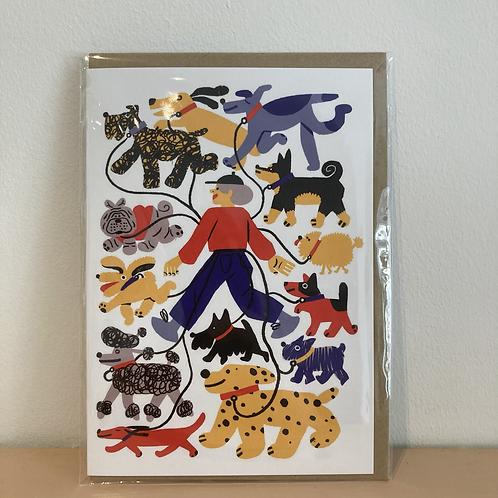 Dogwalker Card