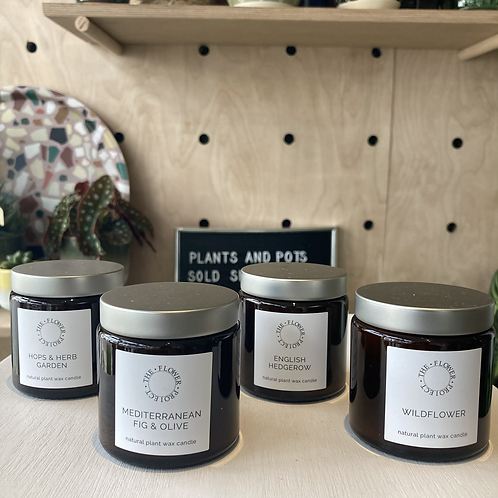 The Flower Project Candle - 120ml Pharmacy Pot