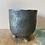 Thumbnail: St Tropez bronze plant pot 14x15cm