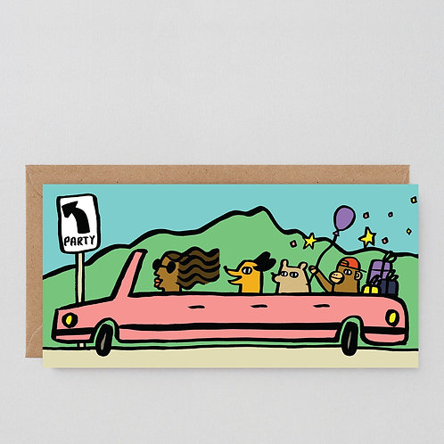 Party Bus Card