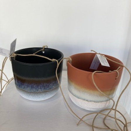 Mojave Hanging Pot - 3 different colours available