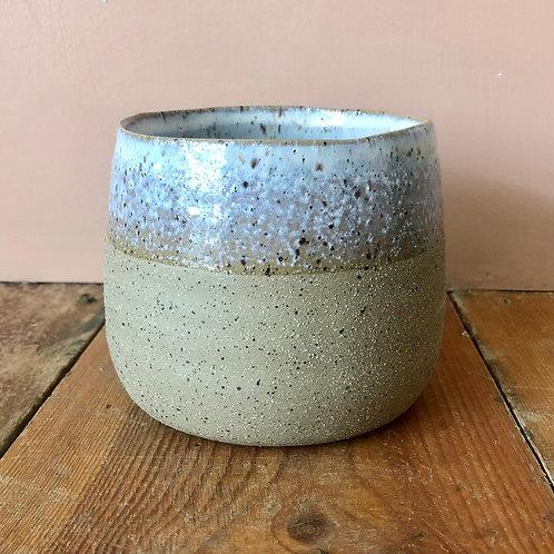 Fairfax Plant Pot - Sand 10.5x10.9cm