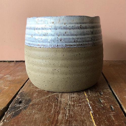 Fairfax Plant Pot - Sand 16.2x16.2cm