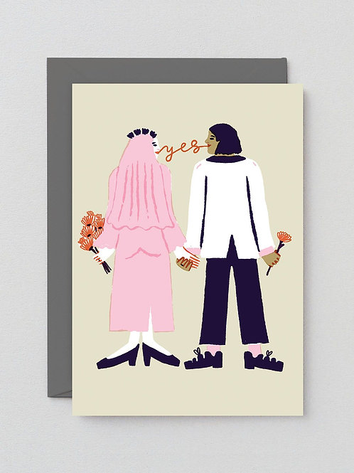 Say Yes Card
