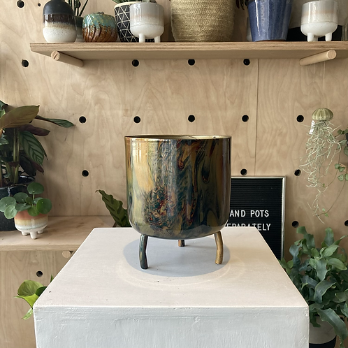 Metal Plant Pot 14.5x12cm
