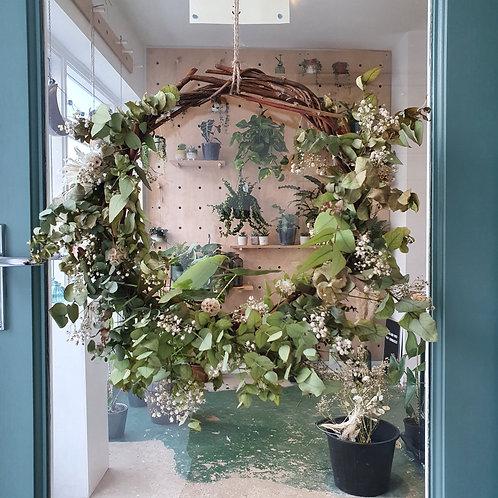 Eucalyptus Christmas Wreath - 35cm wide