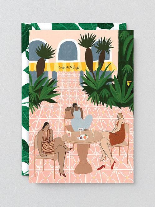 Cafe tropicana card