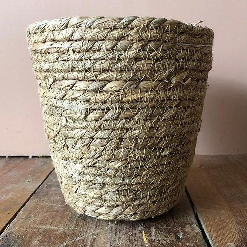 Seagrass Basket Plant Pot 18x18cm