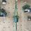 Thumbnail: Hanging Macrame Plant Holder Green