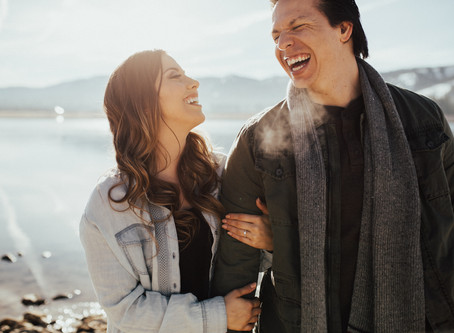JESS + JOSH: BIG BEAR LAKE ENGAGEMENT