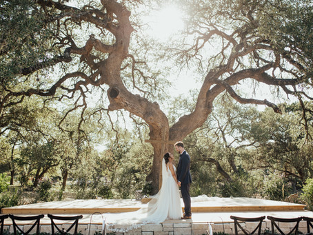 TEXAS SUMMER WEDDING: VICTORIA + JARED