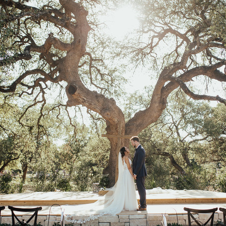 TEXAS SUMMER WEDDING: VICTORIA + JARED