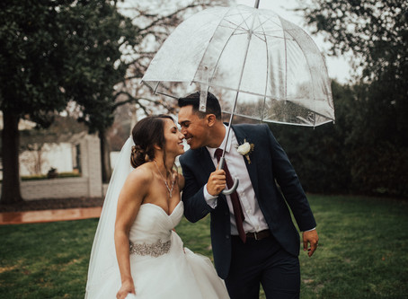 CRYSTAL + JOBOB: BEAUTIFUL RAINY GARDEN WEDDING