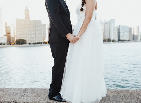 NATASCIA + PHIL: DOWNTOWN CHICAGO WEDDING