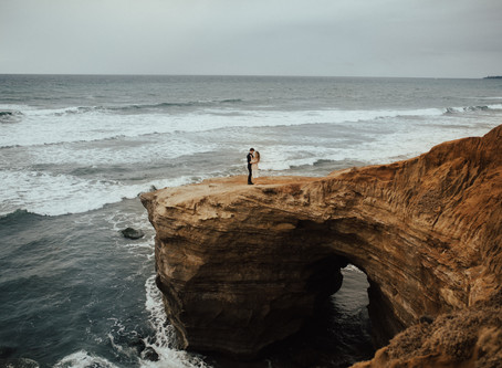 KELSEY + TANNER: SUNSET CLIFFS, SAN DIEGO ENGAGEMENT
