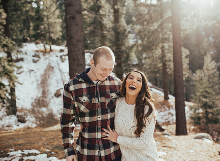 LEANN + JIM: SNOWY MOUNTAIN ENGAGEMENT