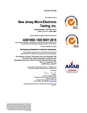 New Jersey Micro-Electronic Testing  Inc
