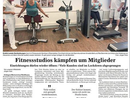 Fitnessstudios kämpfen um Mitglieder