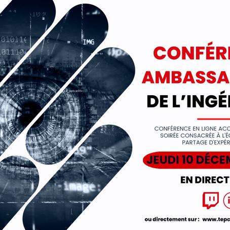 Conférence Ambassadeurs de l'Ingénierie [ Jeudi 10 décembre 2020]