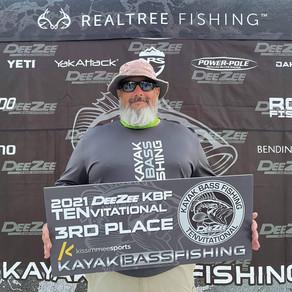 Matt Kiefer Represents The Hoosier State In The 2021 Kayak Bass Fishing Season Kick Off Events!