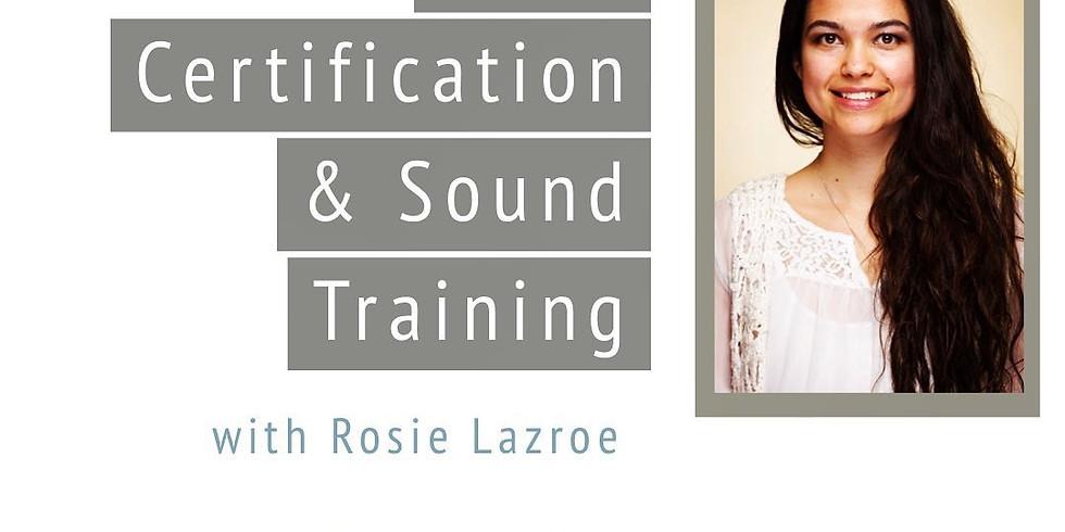 Reiki Certification & Sound Training