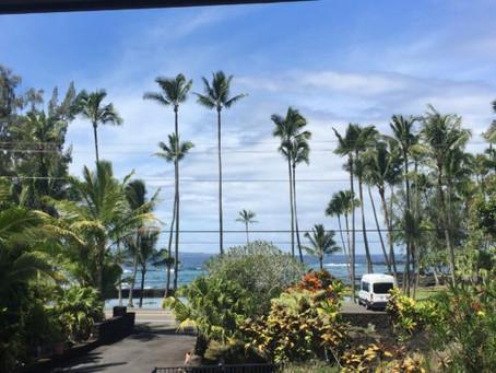 ハワイ島ロミロミワークショップ④いよいよレッスン